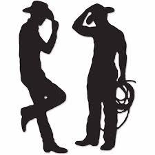 cowboy silhouette cutouts walmart com
