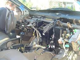 one thing at a time changing heater core on accord 99