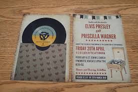 vintage style wedding invitations vinyl record themed wedding invitation by magik moments