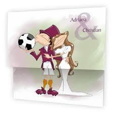 dessin humoristique mariage faire part mariage pas cher le footballeur en humour n15c224