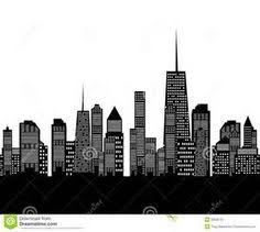 free city skyline silhouette vector u2013 city silhouette graphics