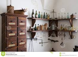 grodno belarus april 5 2017 shelf with medieval drugs in the