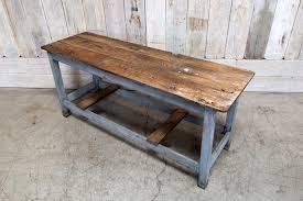 vintage wood work table bd antiques