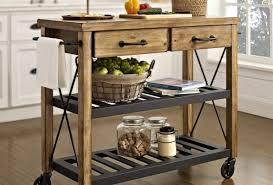 kitchen noticeable kitchen island cart stainless terrifying