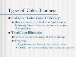 types of green color web design for color blind users presented by rajalekshmy usha hci