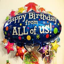 happy birthday balloon 98x91cm foil air balloon birthday party balloons party