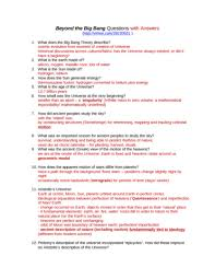 How The Earth Was Made Worksheet Answers Nats 1745 Lecture Notes Nats 1745 Lecture 1 Beyond The Big