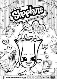 shopkins coloring pages shopkins season printable summer
