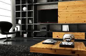 black and wood wood design living room coma frique studio a6ba21d1776b