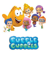 digital bubble guppies centerpieces diy characters