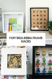 Diy Hack 9 Diy Ikea Ribba Frame Hacks That You Should Try Shelterness