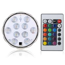 submersible led lights wholesale 2018 wholesale super bright remote controlled submersible led light