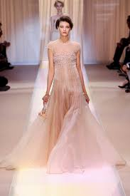 armani wedding dresses tulle gown wedding dress with sheer cap sleeves