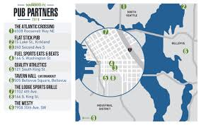 Bellevue Seattle Map by Eight Places In Seattle We U0027re Sure Will Be Showing The Sounders