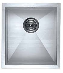 Square Kitchen Sinks by Stainless Steel Kitchen Sink F4045 Square Single Bowl Undermount