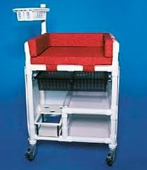 Changing Table Mobile Plastic Changing Table On Casters Commercial Mobile Rcn