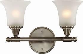 modern bathroom light fixtures brushed nickel inspiration home