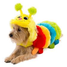 Yorkie Halloween Costumes Paw Pet Halloween Caterpillar Costume Costumes Petsmart