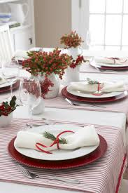 furniture accessories christmas tablescape with small clear
