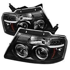 ford f150 for amazon com spyder auto ford f150 version 2 black halogen led