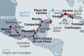 Havana On Map Mexico U0026 Cuba Highlights Overview Mexico U0026 Cuba Highlights En Gb