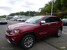 jeep grand cherokee red interior 2015 deep cherry red crystal pearl jeep grand cherokee limited 4x4