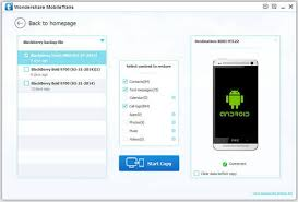 move to android how to transfer data from blackberry smartphone to android