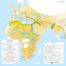 North Africa Map by Geologic Map Of North Africa 5000 Bc Alternate History Discussion