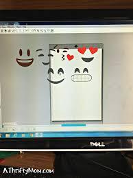diy emoji party invitations teen or tween party idea