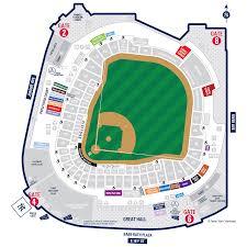 Red Rocks Seat Map Yankee Stadium Map New York Yankees