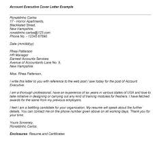 agency account manager cover letter