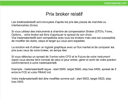 chambre de compensation tradersalertes 100 compatible with all brokers traders alerts
