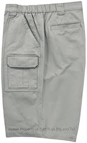 Comfort Waist Mens Shorts Amazon Com Savane Big Men U0027s Casual Shorts Expandable Waist Clothing