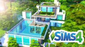 pool house amazing forest pool house the sims 4 build youtube
