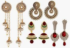 types of earrings for women pear shape clothing tips for gorgeous look looksgud in