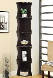 Corner Bookcase Wood Discount Corner Bookcase