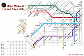 Madrid Subway Map Argentina Mapa Metro