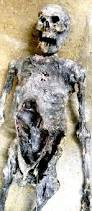 hand made halloween prop desiccated mummy skeleton by j e d
