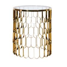 Gold Side Table Koi Gold Side Table