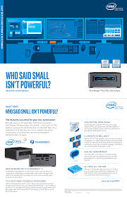 intel nuc for workstations u2014small is powerful