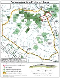 Map Of Sonoma County Mountain Maps Sonoma Mountain Preservation