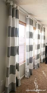 Curtains For A Large Window Inspiration Diy Painted Curtains Color Patterns Window And Living Rooms