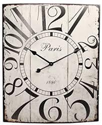 Grande Horloge Murale Carrée En Bois Vintage Achat Carré Grande Horloge Murale En Métal De Style Rétro 58 Cm X 70 Cm
