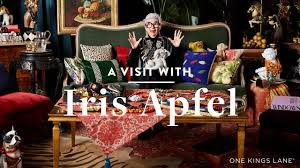 One Kings Lane Home Decor by A Visit With Iris Apfel Youtube