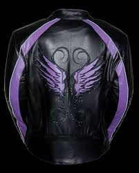 leather jacket for motorcycle riding women u0027s motorcycle riding black purple leather jacket w stud