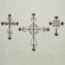 wall crosses valles metal wall cross set