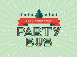 party bus logo creochristmas party bus registrations