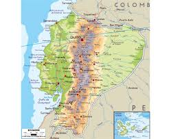 Geographical Map Of South America Maps Of Ecuador Detailed Map Of Ecuador In English Tourist Map