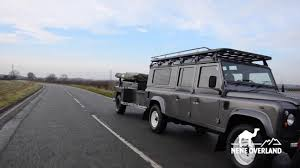 land rover 110 overland land rover defender 130 csw conversion youtube