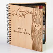 personalized photo albums carved in